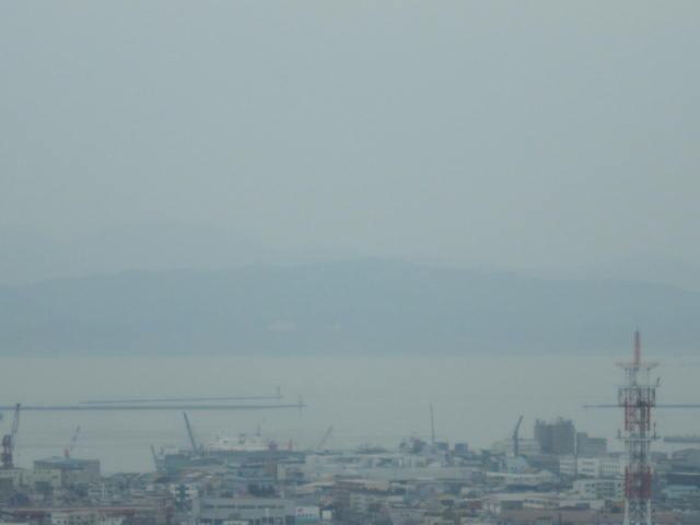 2・五稜郭タワーから函館湾.JPG