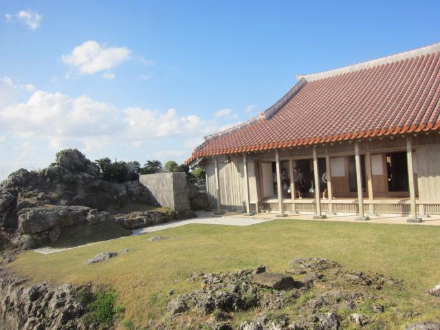 3・首里城内建物と庭1.JPG